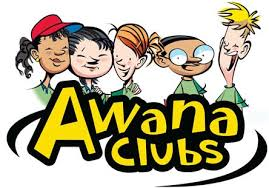 Awana Clubs Logo with Five Children Above