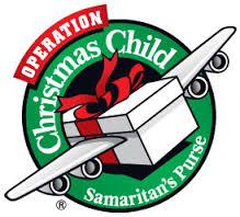 Operation Christmas Child flying shoebox